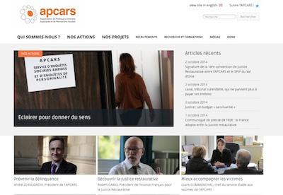 Nouveau site internet de l'APCARS : www.apcars.fr